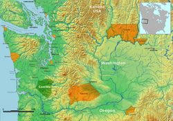 Cowlitz People-- are a southwestern Coast Salish indigenous peoples of the Pacific Northwest. Today they are enrolled in the federally recognized tribes: Cowlitz Indian Tribe, Quinault Indian Nation[4] and the Confederated Tribes of the Chehalis Reservation.