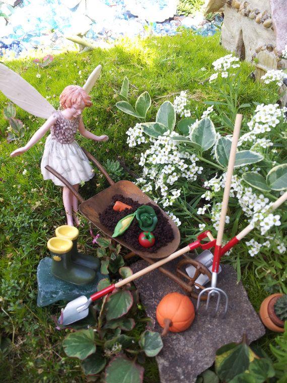 Fairy Garden Kit Garden Vegetables By MagikalFairyland On