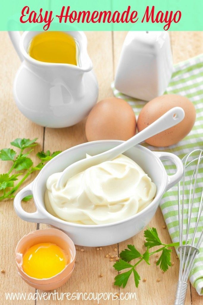 Easy Homemade Mayo Recipe - Stop overpaying for mayo! This Easy Homemade Mayo Recipe is creamy and has a taste that will leave you wanting more!