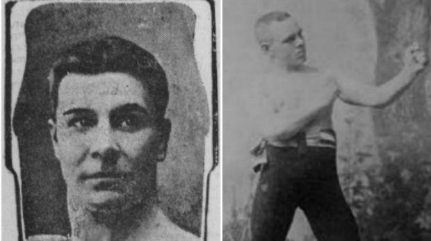 jack burke, andy bowen, boxing