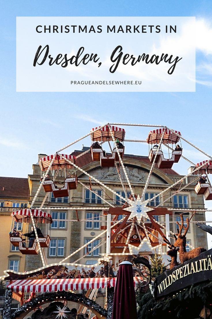 The Dresden Striezelmarkt – Christmas Market in Dresden, Germany