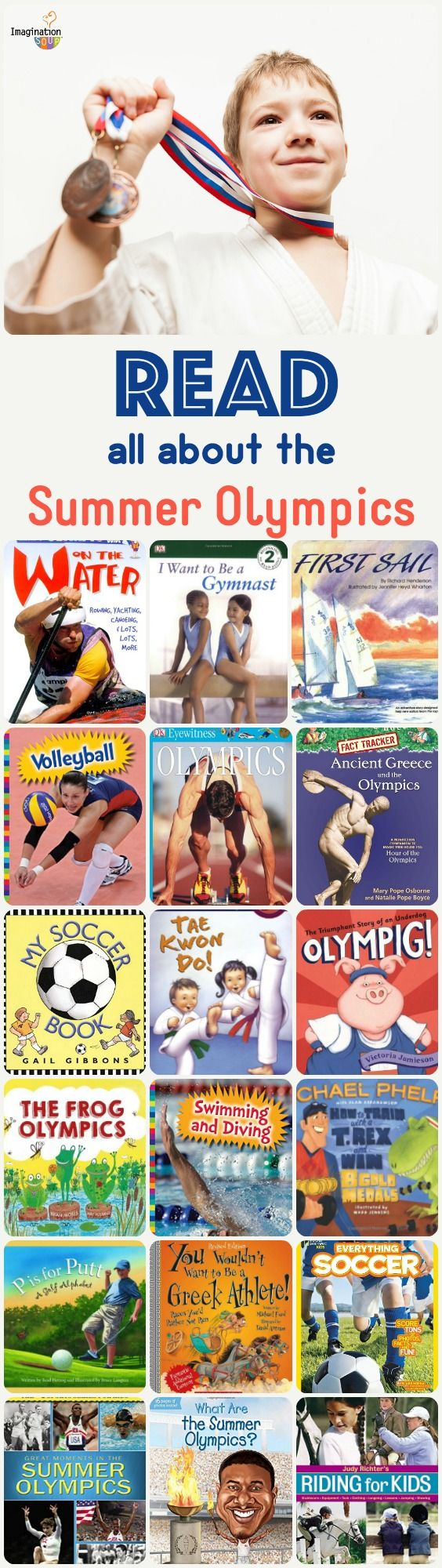 get ready for Rio with these children's books about the summer Olympics!