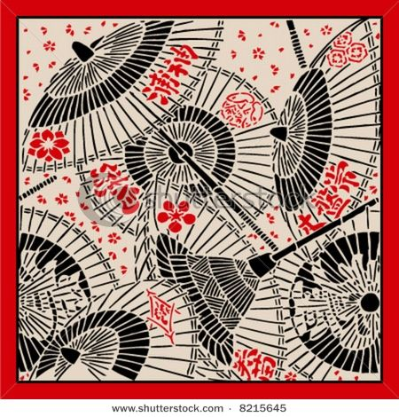 Image result for lotus woodblock print black and white