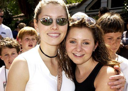 "Jessica Biel Gives Beverly Mitchell Props for Making a Baby -  They became close friends while working together on ""7th Heaven"" and it seems the bond between  Jessica Biel and Beverly Mitchell is still strong."