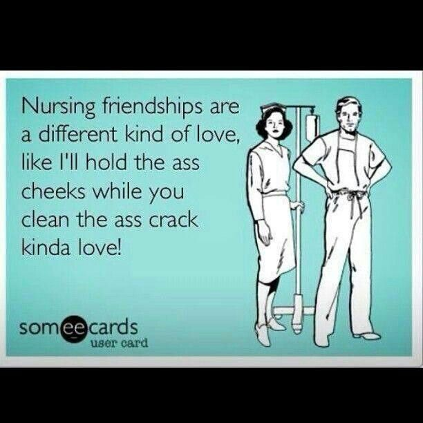 The closest friendships are #nursing friendships! Haha