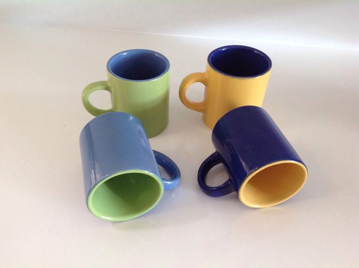 A personal favorite from my Etsy shop https://www.etsy.com/listing/501076968/espresso-cups-small-coffee-mugs-colorful