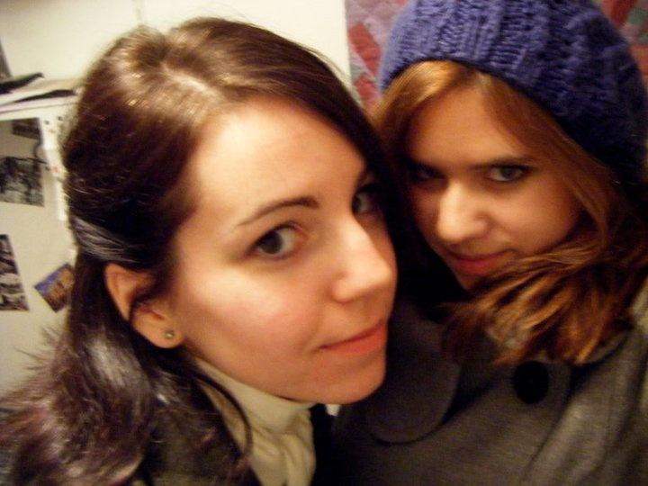 Mielőtt elindultunk az éjszakába, a kollegina ragaszkodott egy fotóhoz.
