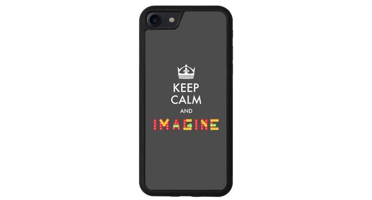 Keep Calm and Imagine iphone 4 5 6 7 samsung S3 S4 S5 S6 S7 S8 edge note plus LG G3 G4 G5 G6 Moto G G2 E X Play Z HTC  5X 6P  Sony Pixel cas de la boutique MeMCase sur Etsy