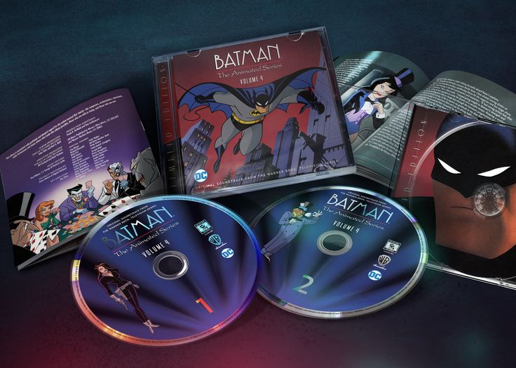 Design and art direction for La-La Land Records' final soundtrack collection of music from Batman: The Animated Series