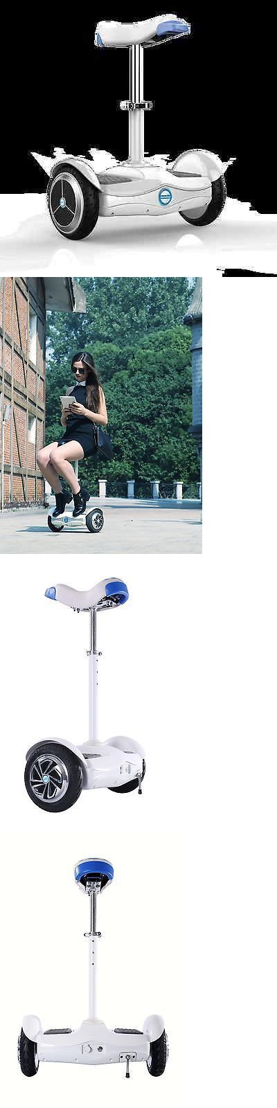 Skateboards-Complete 16264: Open Box Airwheel S6 Motorized Moped Electric Scooter With Seat 2 Wheels -> BUY IT NOW ONLY: $499.99 on eBay!
