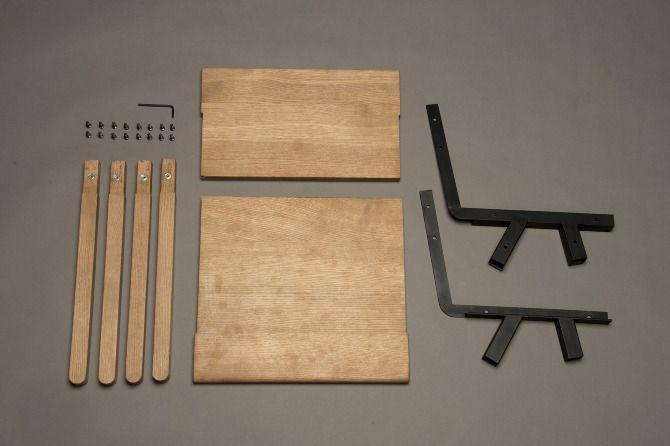 Name: Knockdown Chair  Designer: Mads Saetter-Lassen  Location: Copenhagen