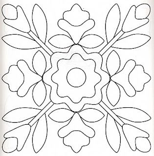 Pattern for Needle Punch, Applique, or Redwork Embroidery