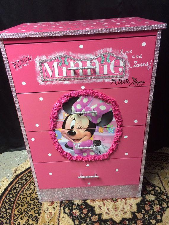 Muebles del ratón de Minnie Navidad por Lisasdazzlingdesigns