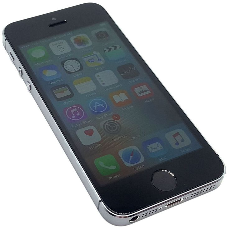 US Cellular Apple iPhone 5s 16GB Space Gray Clean ESN Smartphone IOS Phone #2658 #Apple #Smartphone