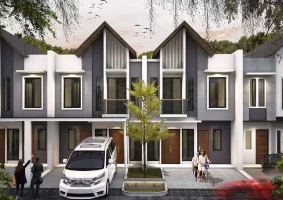 Rumah Desain Modern Tropis di Daerah Bintaro Dijual Rp 900 Juta