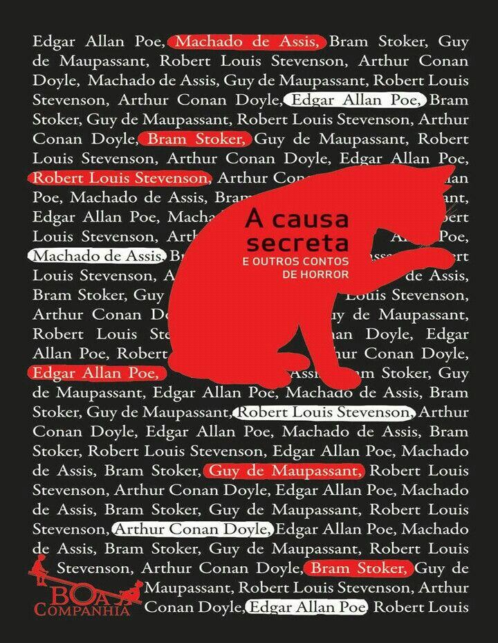 Vários autores - A causa secreta e outros contos de horror*****