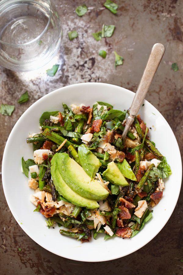 Chicken Bacon Avocado Salad #healthy #healthfood #eating #chicken #salad #lunch