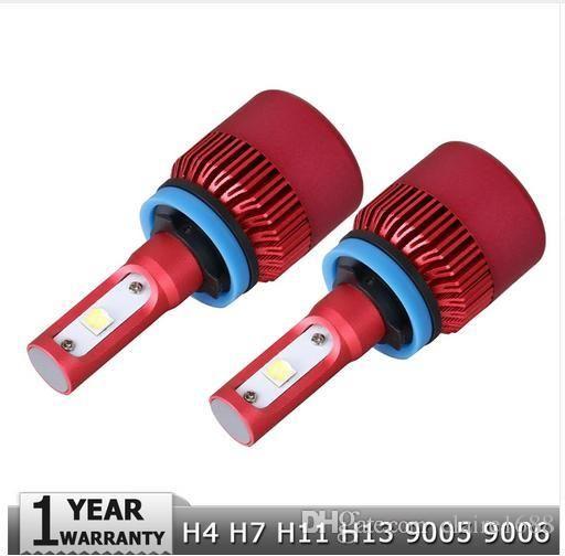 H4 H7 H11 H13 9005 9006 CREE Chips SMD 80W LED Car Headlight Bulb Hi-Lo Beam 9600lm 6500K Auto Headlamp Fog Light 12V 24V - $60.99