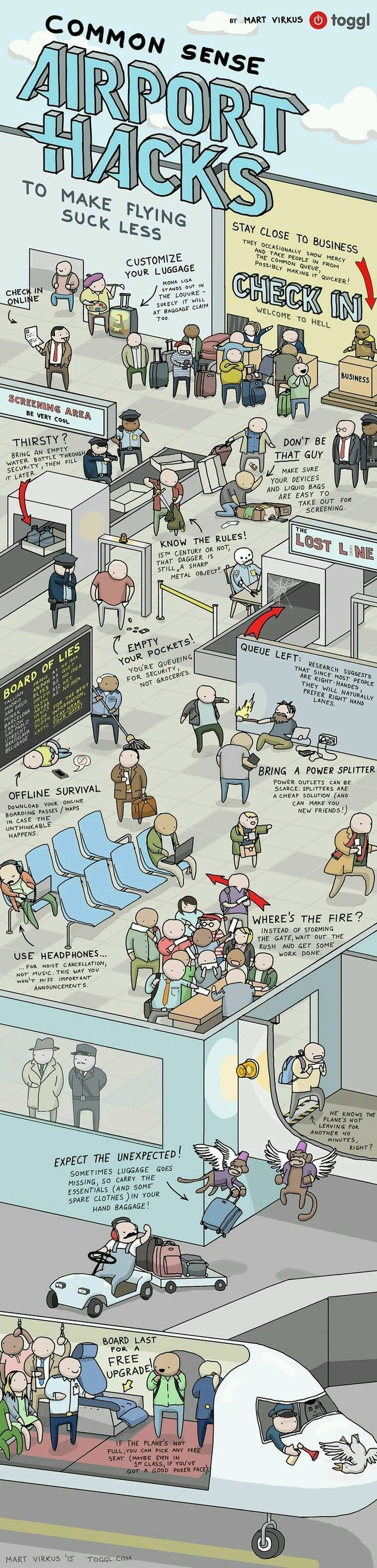 Airport hacks #travelhacks