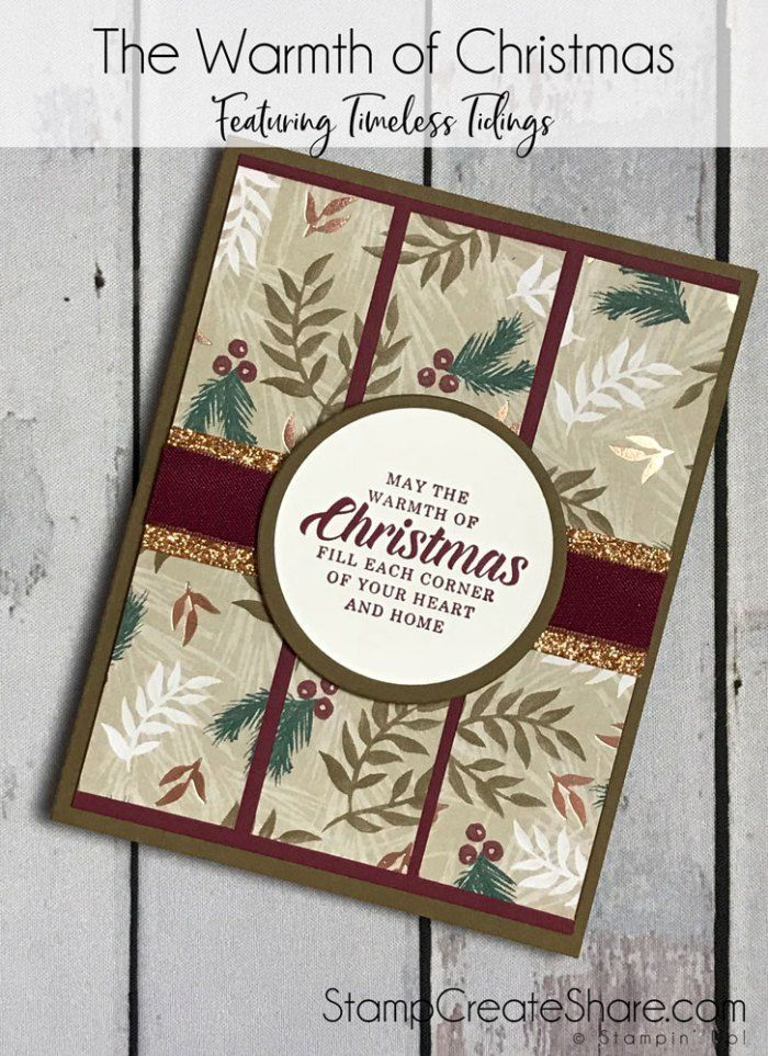 Image result for timeless tidings stampin up | Christmas cards ...
