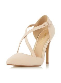 **Head Over Heels 'Candice' Nude Court Shoes