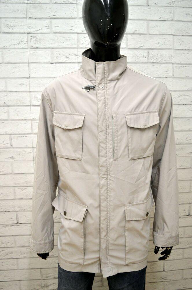 the latest 1a0a1 8a22d Giubbino FAY Uomo Taglia Size XXL Cappotto Giubbotto Coat ...