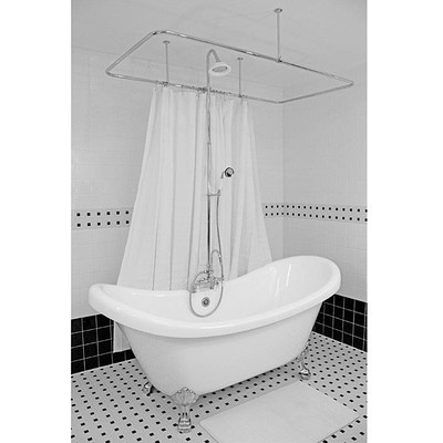 45 Best Clawfoot Tub Shower Images On Pinterest Bathroom