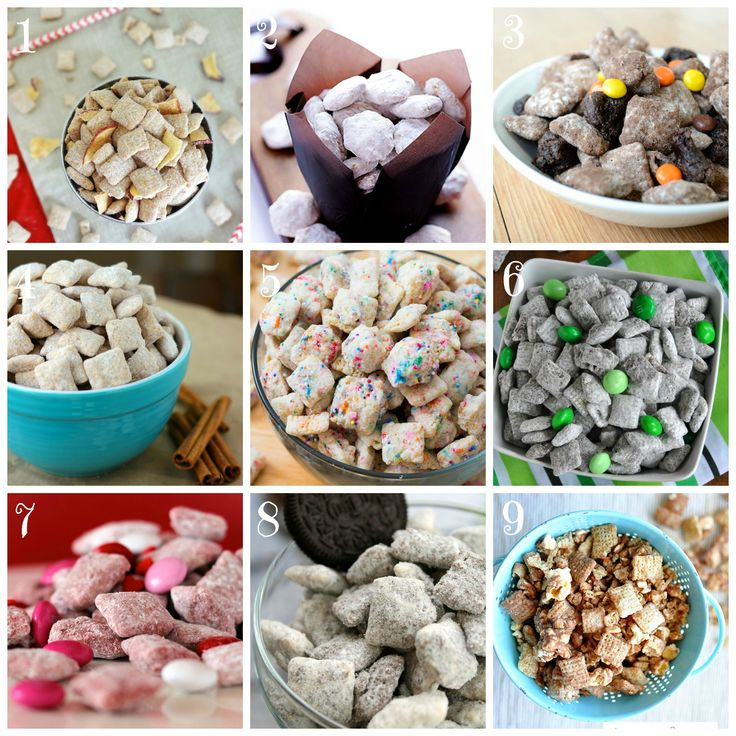 Puppy Chow. Muddy Buddies. Sweet Minglers. Whatever you call it, you know it's delicious… #puppychowCall, Puppychow Recipe, Ahhh Sweets, Sweets Mingler, Chow Assorted, Puppies Chow Recipe, Muddy Buddy, Delicious Puppychow, Chow Types