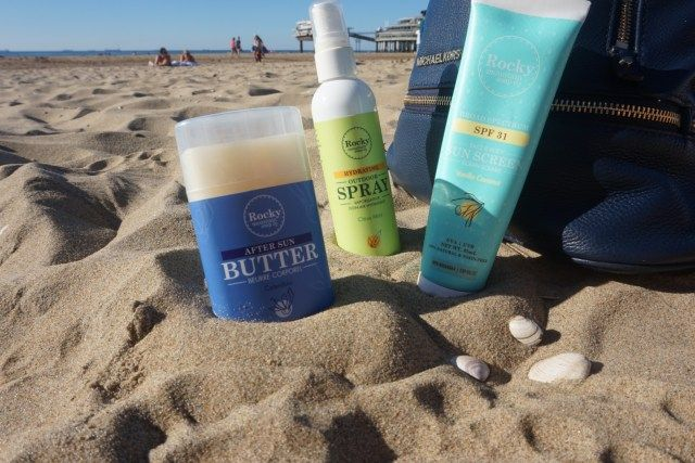 Trying Rocky Mountain Soap Co Natural sunscreen from Living to a T.