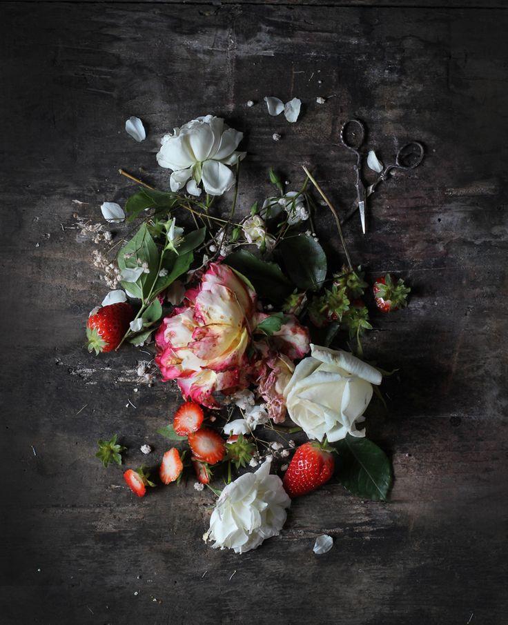 Three Roses Strawberry Pistachio Bavarese | Hortus Natural Cooking - Naturally Italian.