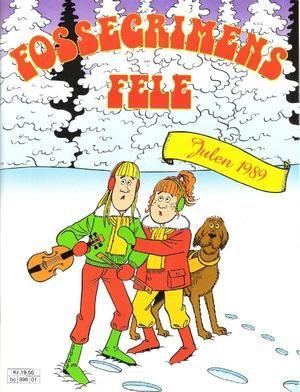 """""""Fossegrimens fele - Julen 1989"""" av Robert Wood"""