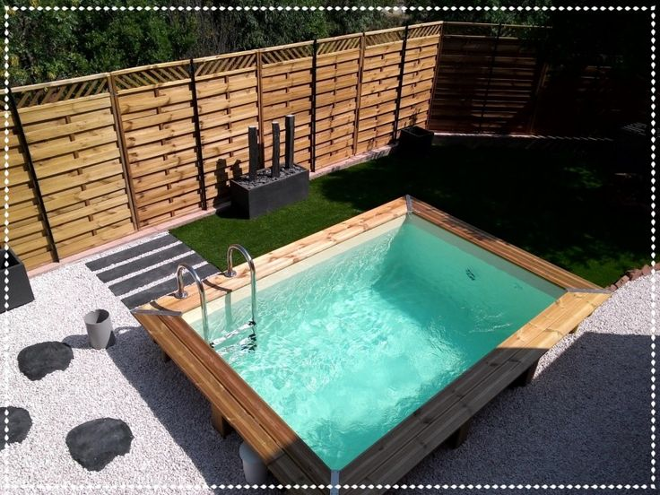 best 25 petite piscine ideas only on pinterest id es pas ch res d 39 am nagement paysager. Black Bedroom Furniture Sets. Home Design Ideas