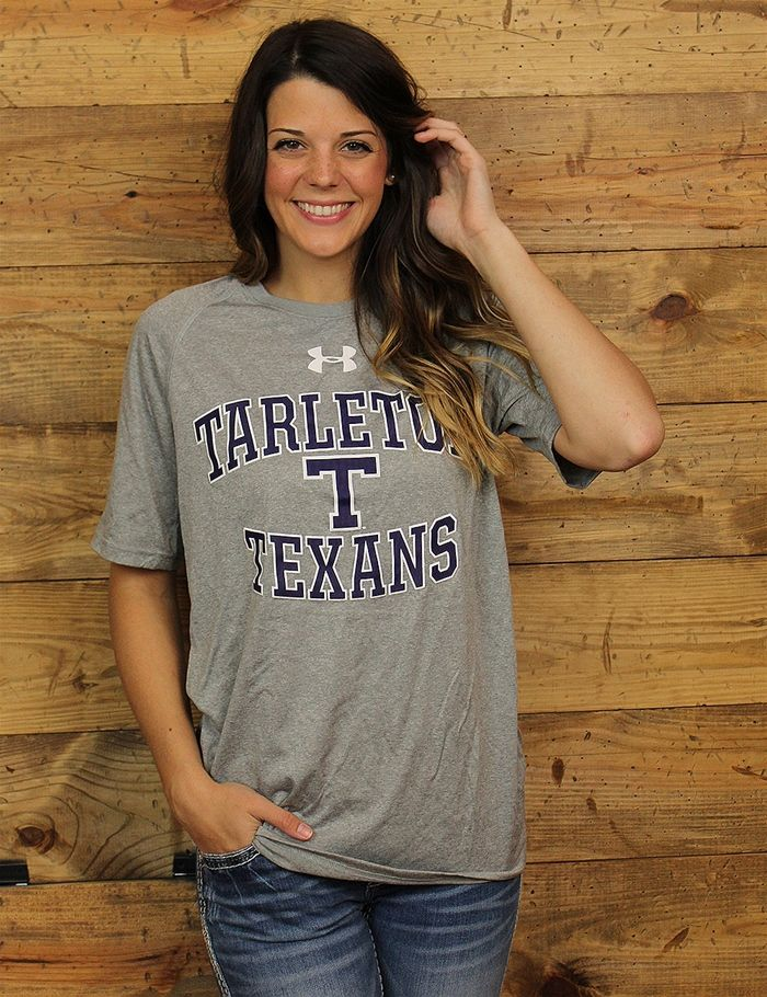 Everyone will notice your pride for Tarleton State University in this Under Armour shirt Every Texan fan will love it