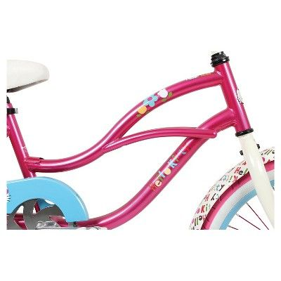 Kids Hello Kitty Cruiser Bike - Pink (20)