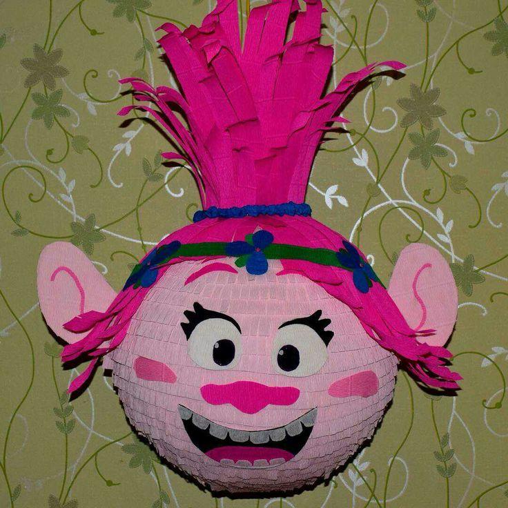 Piñatas~Trolls Poppy Piñata