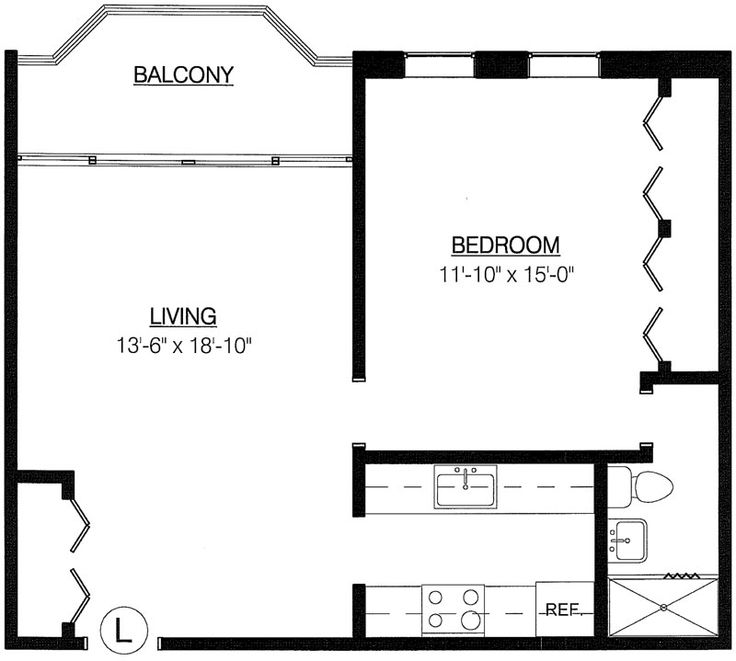 Crown court one bedroom new haven towers floor plans for House plans with tower room