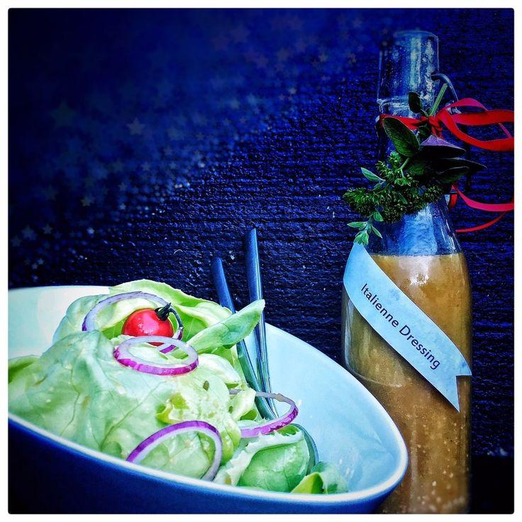 Italienne Dressing (Italienische Salatsauce)   Food-Blog
