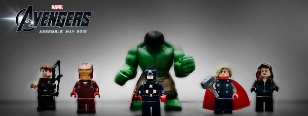 """The Avengers trailer - Lego remake! Youtube user """"teradew"""" has made a stop-motion Lego version of the Avengers trailer."""
