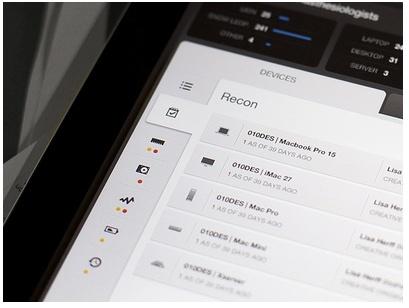 Tab based nav - iPad