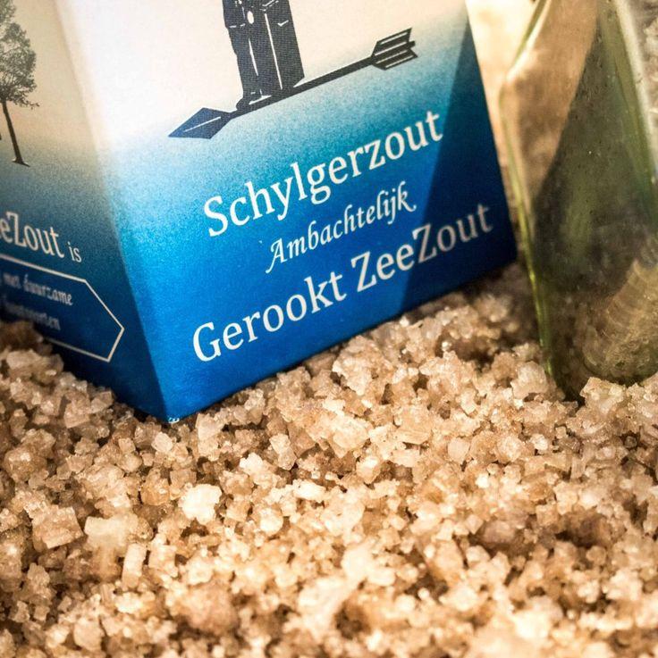 Ambachtelijk gerookt zeezout van Het Olde Ambaecht op Terschelling. Kampvuur in een potje!