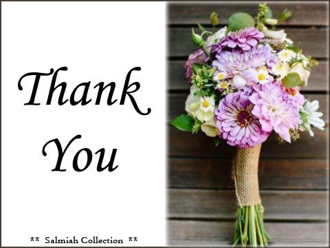 Flowers of Life: Thank You Card 20