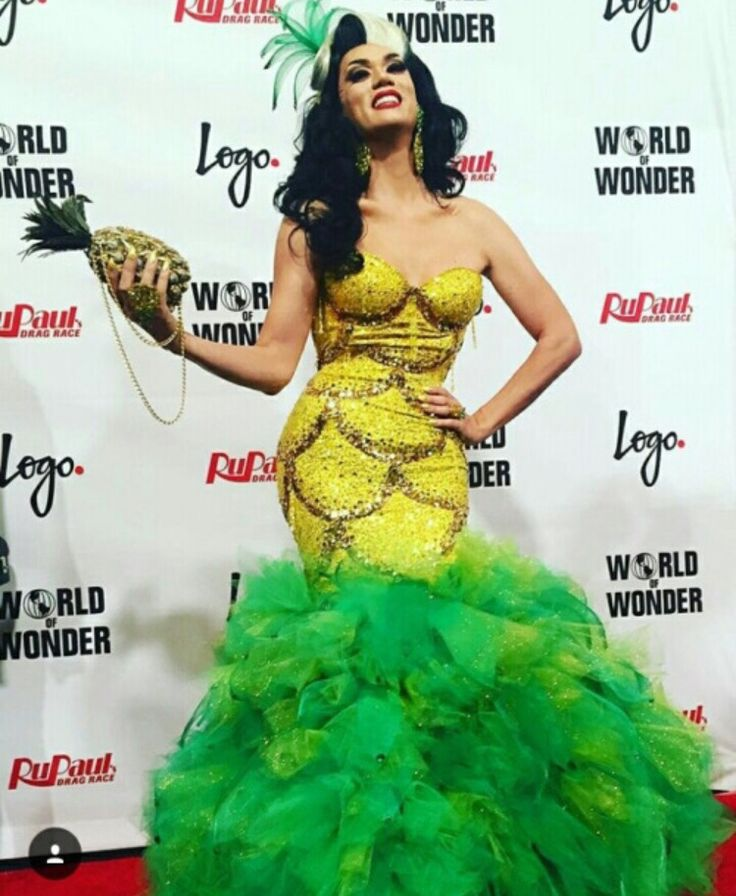 Manila's Pinapple Dress