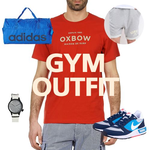 Ωρα για γυμναστήριο! Your gym outfit http://goo.gl/MSlCvw #gymoutfit #menstyle #menfashion