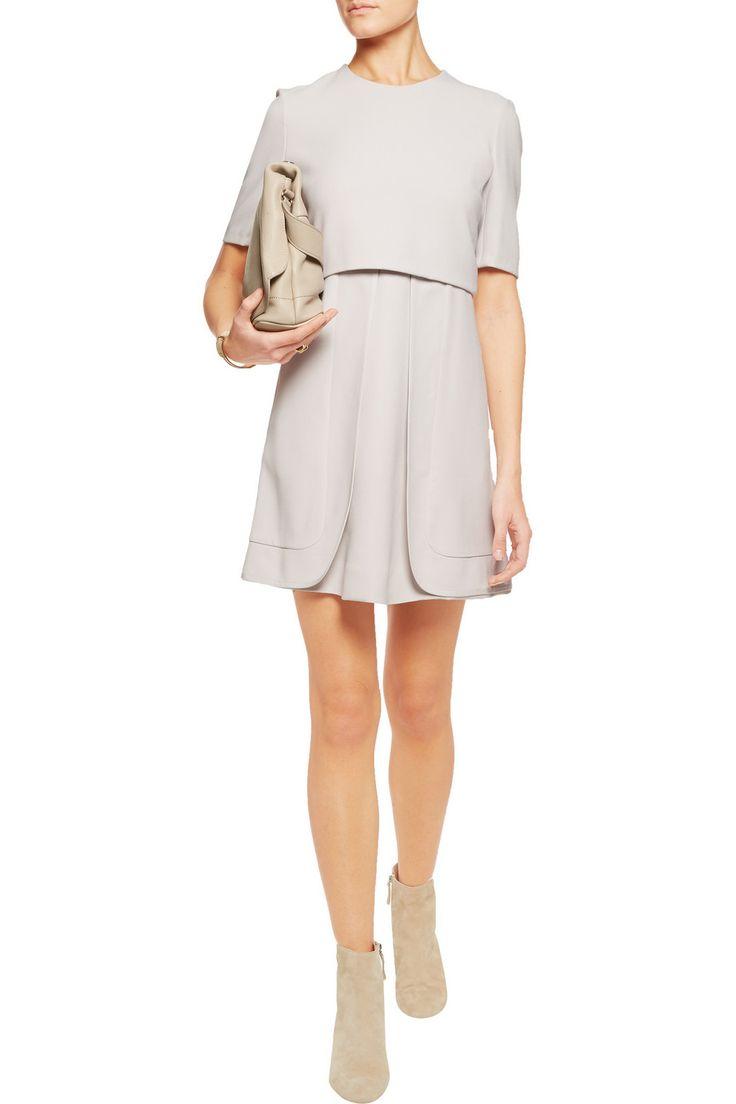 Chlo 233 Layered Crepe Dressfront Fashspiration Pinterest
