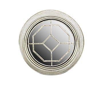 Зеркало - металл - серебряный - Ш6хØ34,5