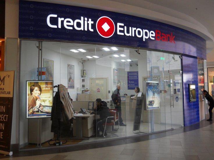 Fatada Credit Europe Bank