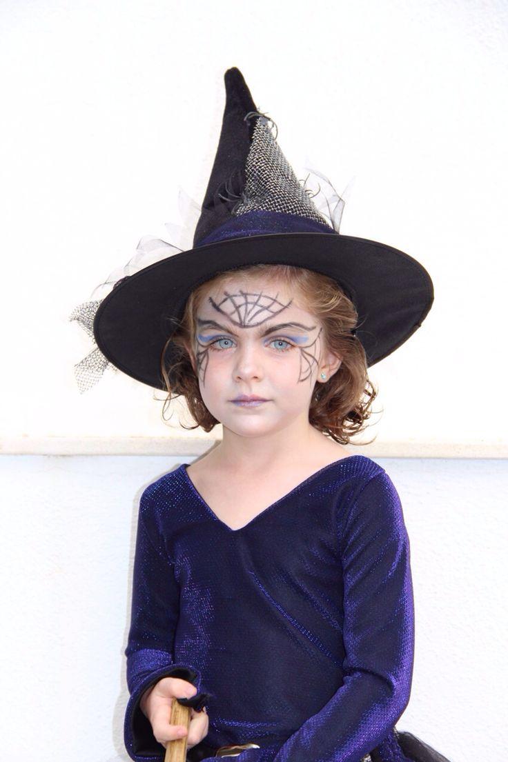 Maquillaje bruja Halloween