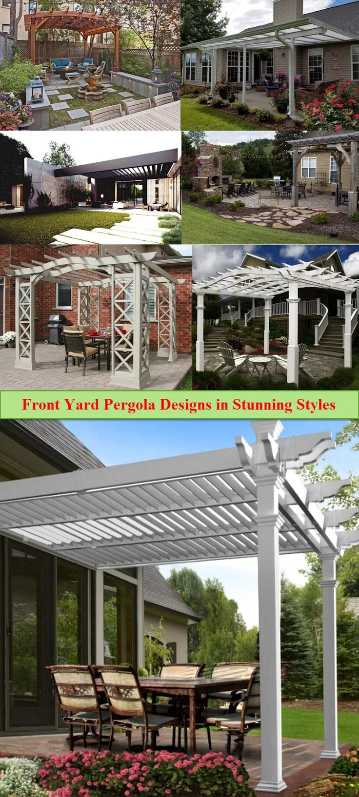 Pergola Over Garage an Excellent Option Pergolas Garage pergola
