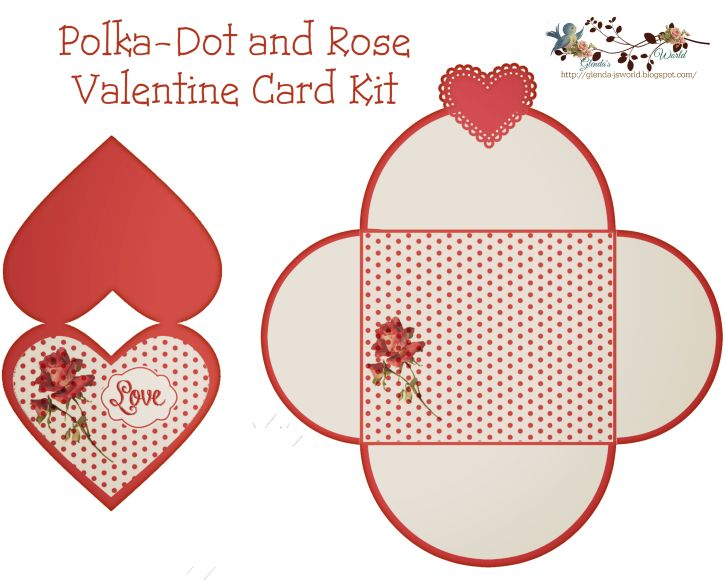 Free Valetine card & envelope | Do It Yourself Today ...