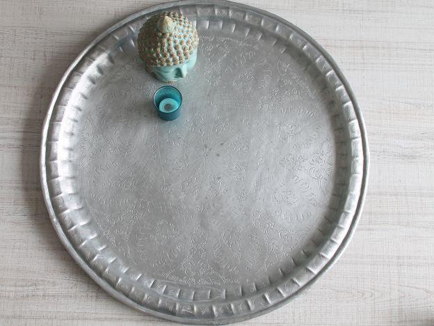moroccan vintage tray handmade. bandeja antigua marroquí. dar amïna shop
